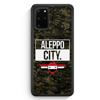 Aleppo City Camouflage Syrien Silikon Hülle für Samsung Galaxy S20+ Plus Moti...