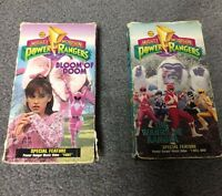 Mighty Morphin Power Rangers VHS Tapes