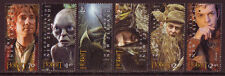 "NEW ZEALAND 2012 ""THE HOBBIT"" SET OF 6 UNMOUNTED MINT, MNH."