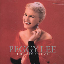 The Very Best of Peggy Lee by Peggy Lee (Vocals) (CD, Aug-2000, EMI Music Distribution)