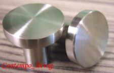 "3/4"" Brushed / Brush Nickel Cabinet Pull Knob Hardware"