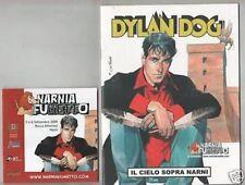 DYLAN DOG - IL CIELO SOPRA NARNI albo Narnia Fumetto 2009 BROCHURE + VOLANTINO