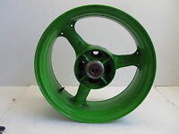KAWASAKI ZX-9R ZX9R ZX9 2000 2002 00 02 REAR STRAIGHT WHEEL 41073-1653-CJ GREEN
