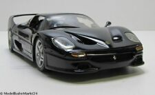 HOT WHEELS Ferrari F50 schwarz im Maßstab 1:18