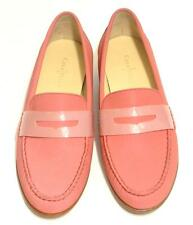 COLE HAAN NIKE AIR~$198~NWOB~BI-COLOR PINK~LEATHER *MONROE* PENNY LOAFER SHOES~7