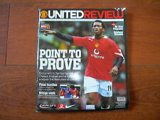 2005 LEAGUE CUP SEMI - FINAL MANCHESTER UNITED v CHELSEA