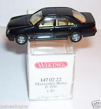 MICRO WIKING HO 1/87 MERCEDES BENZ E 230 NOIRE BOX