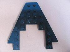 LEGO 6104 @@ Wedge, Plate 8 x 8 with 3 x 4 Cutout (x1) @@ BLACK @@ NOIR