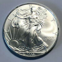 2009 1 Oz Silver American Eagle $1 (Brilliant Uncirculated)