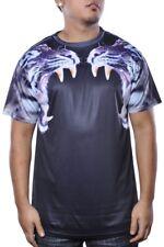 Blacksmith Sublimated Tiger T-Shirt Navy Mens