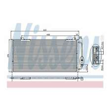 Fits MG MG ZS 120 Genuine OE Quality Nissens A/C Air Con Condenser