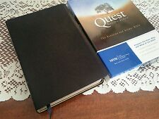 84 NIV QUEST Study Bible NEW IN BOX Top Grain leather 1984 New International SB