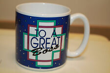 1990 copyright Flowers To A Great Boss Coffee Mug Supervisor Manager #661600 B12