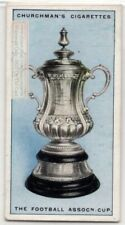 Association Football Championship Cup England Soccer 1920s Ad Trade Card