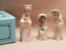 Lladro Nativity Mini Ornaments - Three Kings Reyes Set #5729 W/Box