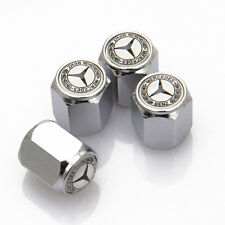 4x Universal Car  Wheel Tire Valve Cap Tyre Dust Cover Parts For Mercedes-Benz