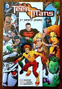 Teen Titans by Geoff Johns Omnibus. Hardcover.  Out of Print 1426 pages