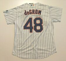 deGrom # 48 New York Mets jersey Men size L Large. Free Ship US seller