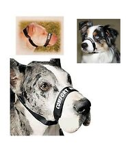 """Comfort Muzzle for Dog - Adjustable Neck size 16"""" to 24"""""""
