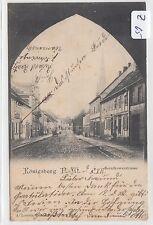 590, Königsberg N.M. Bernikowerstraße gelaufen 1903 selten !