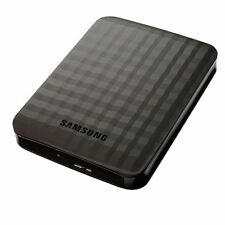 "Samsung M3 Slimline 750GB 2.5"" USB 3.0 External Portable Hard Drive HDD Balck"