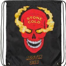 Stone Cold Steve Austin 3:16 Drawstring Bag Smoking Skull WWE NEW Attitude WWF