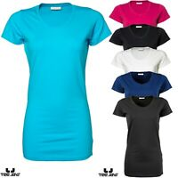 Tee Jays Ladies Stretch Tee Extra Long