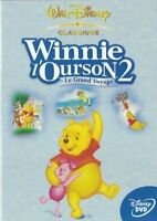 DVD WINNIE L'OURSON 2 LE GRAND VOYAGE WALT DISNEY