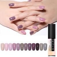 LILYCUTE 5ml  Glitter UV Gel Holo Sequins Soak Off Gel Polish Nail