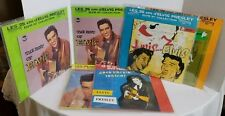 "LOT OF 6 ELVIS PRESLEY 10"" COLLECTION REISSUE RECORDS VINYL"