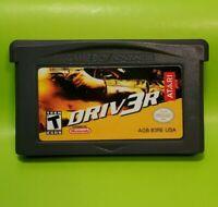 Driv3r (Driver 3) (Nintendo Game Boy Advance, 2004) **Tested GBA Cartridge
