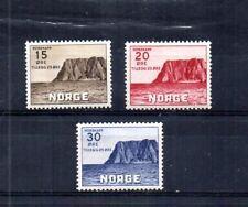 Norway 1943 Scott# B28-B30 North Cape. Complete Set. Unused, Hinged.