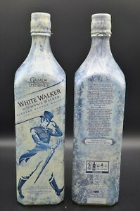 Game of Thrones White Walker Empty Liquor Bottle Limited Edition ONE LITRE