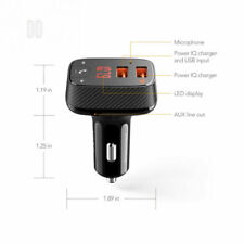 Anker Roav Fm Transmitter Smartcharge Bluetooth Auto Set F0 Freisprechanlage