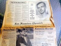 San Francisco Chronicle 9/28/1964 Official Report on Murder of President Kennedy