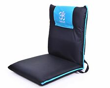 Omlove Blue Outdoor Yoga Meditation Floor Chair Padded Lower back Support Buddhi