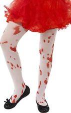 Infantil disfraz de Halloween manchado sangre medias Niña 6-12 Años por Smiffys