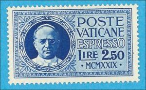 VATICAN CITY E2 SPECIAL DELIVERY  MINT HINGED * NO FAULTS EXTRA FINE!