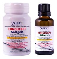 Fungus Stop is Now Fungucept Advanced Repair Solution. 100% Natural.