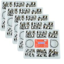 Sale 5packs Sectional Contoured Metal Matrices 35 μm +2 Pcs Dental Ring / Kit
