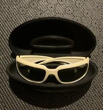 Arnette Infamous White Polarized Sunglasses 4076 - 08/88 w/ Case OEM
