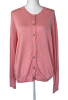 NWT ANN TAYLOR LOFT Light Weight Long Sleeve Cardigan Sweater Women's Size L