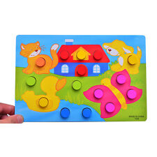 Montessori Tangram Jigsaw Educational Puzzles Game Toy for Child Kids Gifts Hot