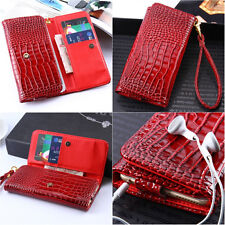 Universal wallet purse case for Iphone 4 5 6 Samsung S3 S4 S5mini cover bag