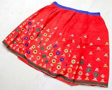 Banjara Tribal Rabari Kuchi Mirror Ethnic Embroidery Gypsy Belly Dance Skirt