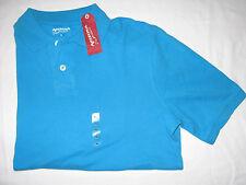 NWT Men's M Carnival Blue Arizona Jean Co. Polo Shirt