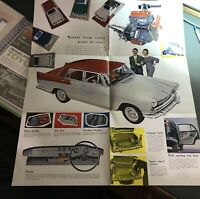 Vintage Brochure 1950s Austin A60 Cambridge Car Sales Advertising Catalogue