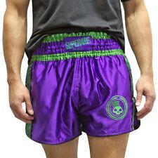 Para Gamma Muay Thai Shorts-Púrpura/Verde