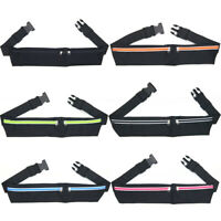 Sport Zipper Pack Belly Waist Bum Bag Fitness Running Jogging Cycling Belt Pouch