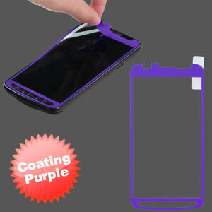 For Samsung Galaxy S4 Active Coating Screen Protector/ Purple Phone Cover